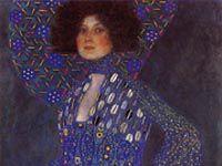グスタフ・クリムト『エミリエ・フレーゲの肖像』