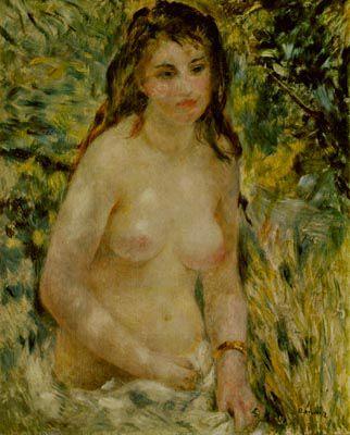 ルノワール『陽光のなかの裸婦』