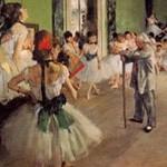エドガー・ドガ『バレエのレッスン』