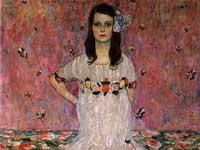 グスタフ・クリムト『メーダ・プリマヴェージの肖像』
