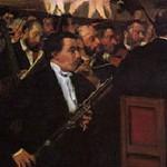 エドガー・ドガ『オペラ座のオーケストラ』