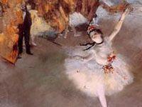 エドガー・ドガ『踊りの花形』