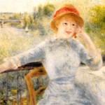 ルノワール『アルフォンジン・フルネーズの肖像』