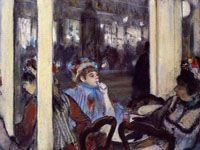 エドガー・ドガ『カフェのフロントにいる女たち』