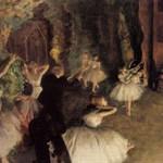 エドガー・ドガ『バレエの舞台稽古』