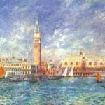 ルノワール『Doge's-Palace,-Venice』