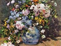 ルノワール『春の花』
