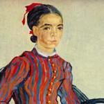 ゴッホ『少女の肖像 (ムスメ)』