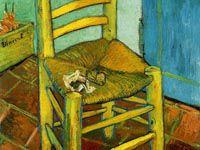 ゴッホ『黄色い椅子』