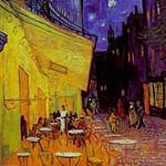 ゴッホ『夜のアルルのカフェテラス』