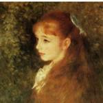 ルノワール『イレーヌ・カーン・ダンヴェール嬢の肖像』