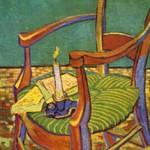 ゴッホ『ゴーギャンの椅子』
