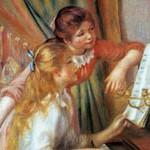 ルノワール『ピアノに寄る娘たち』