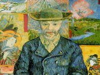 ゴッホ『ジュリアン・タンギー (タンギーじいさん)の肖像』