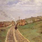 ピサロ『ロードシップ・レイン駅、アッパー・ノーウッド』