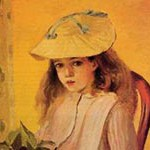 ピサロ『ジャンヌの肖像』