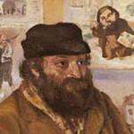 ピサロ『セザンヌの肖像』