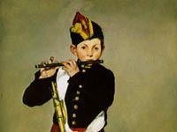 マネ『笛を吹く少年』