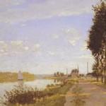 モネ『アルジャントゥイユの散歩道』