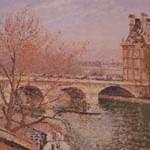 ピサロ『ポン・ロワイアルとパヴィヨン・ド・フロール、パリ』