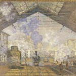 モネ『サン・ラザール駅』