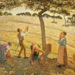 ピサロ『林檎採り、エラニーにて』