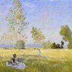 モネ『草原の夏』