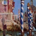 マネ『ヴェネツィアの大運河』