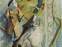 ゴーギャン『馬の首のある静物』