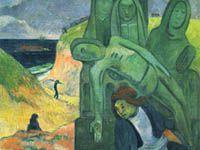 ゴーギャン『緑のキリスト(ブルターニュの受難)』