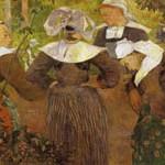 ゴーギャン『四人のブルターニュの女の踊り』