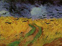 ゴッホ『カラスのいる麦畑』