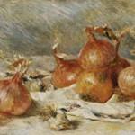 ルノワール『玉葱のある静物』