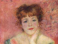 ルノワール『ジャンヌ・サマリーの肖像』