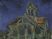 ゴッホ『オーヴェールの教会』