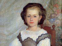 ルノワール『ロメーヌ・ラコー嬢の肖像』