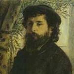 ルノワール『モネの肖像』