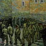 ゴッホ『刑務所の中庭(ドレによる)』