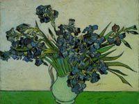 ゴッホ『花瓶のアイリス』