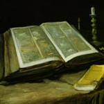 ゴッホ『聖書のある静物』