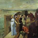 エドガー・ドガ『バビロンを建設するセミラミス』