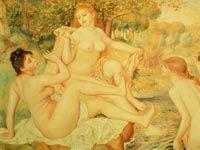 ルノワール『女性大浴女図』