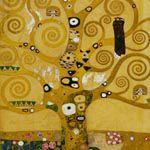グスタフ・クリムト『生命の樹 (ストクレ・フリーズ:下絵)』
