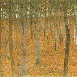 グスタフ・クリムト『ブナの森Ⅰ』