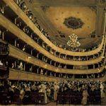 グスタフ・クリムト『ウィーン旧ブルク劇場の観客席』