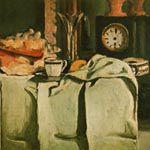 ポール・セザンヌ『黒い置時計』