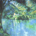 ポール・セザンヌ『アヌシー湖』