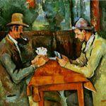 ポール・セザンヌ『カード遊びをする人々』
