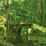 ポール・セザンヌ『マンシーの橋』