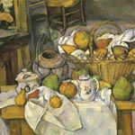 ポール・セザンヌ『台所のテーブル』
